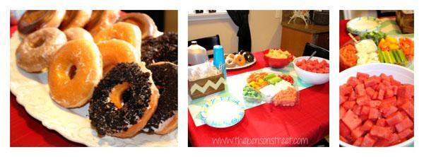 Nail Party Food at www.thebensonstreet.com
