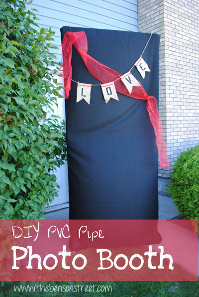 DIY Photo Booth Tutorial at www.thebensonstreet.com