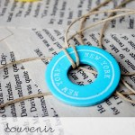 DIY Souvenir Washer Necklaces
