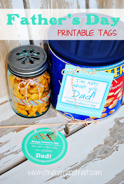 Printable Father's Day Tags at www.thebensonstreet.com