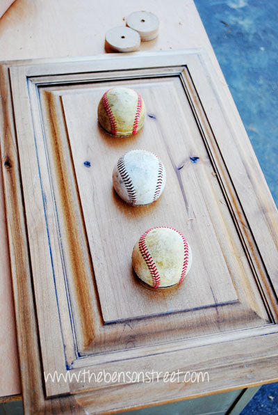 Steps to Baseball Decor at www.thebensonstreet.com