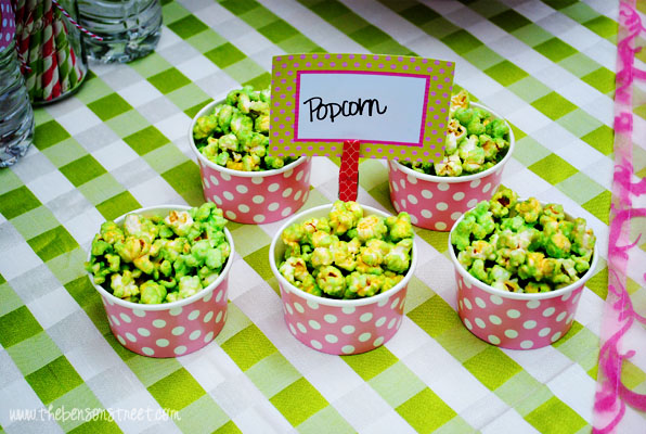 Party Popcorn at www.thebensonstreet.com