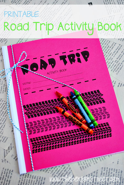 Road Trip Activity Book at www.thebensonstreet.com