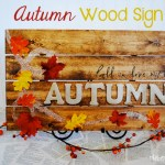 DIY Autumn Pallet Sign
