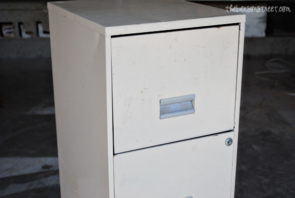 How to Redo a File Cabinet