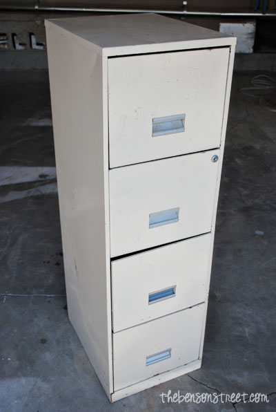 Redo a file cabinet at thebensonstreet.com