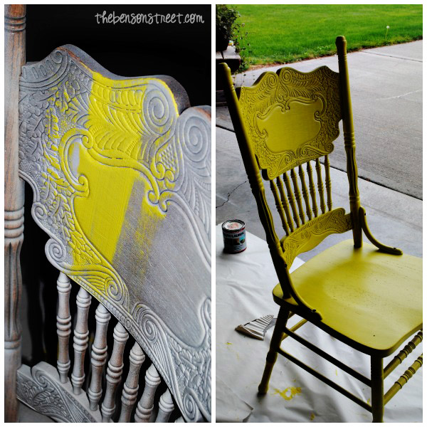 Table and Chair Upcycle at thebensonstreet.com