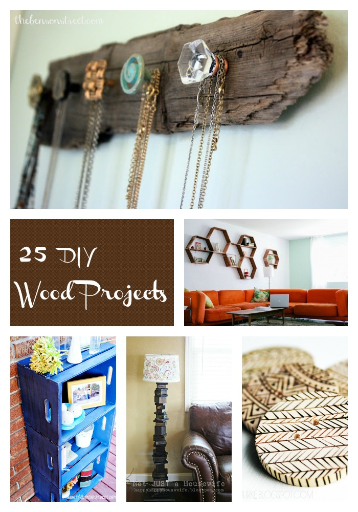 25 DIY Wood Projects at thebensonstreet.com