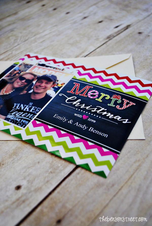 Adorable Christmas Cards with Walgreens at thebensonstreet.com #walgreensapp #shop #cbias