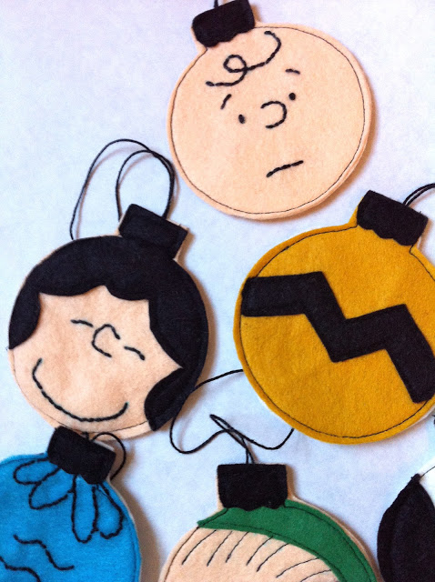 Charlie Brown Ornaments