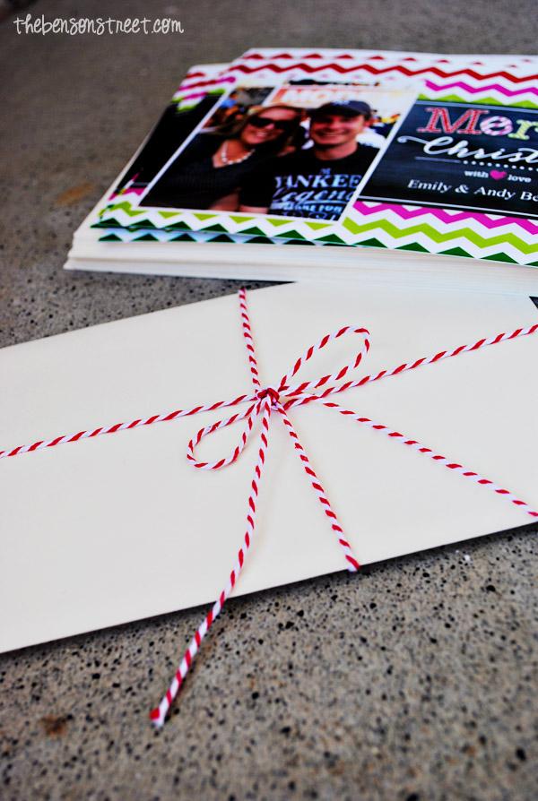 Creating Simple Christmas Cards at thebensonstreet.com #walgreensapp #shop #cbias