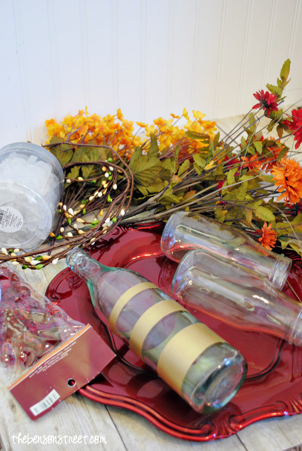 Easy Floral Centerpiece Supplies at thebensonstreet.com