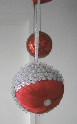 Sequine Ornament