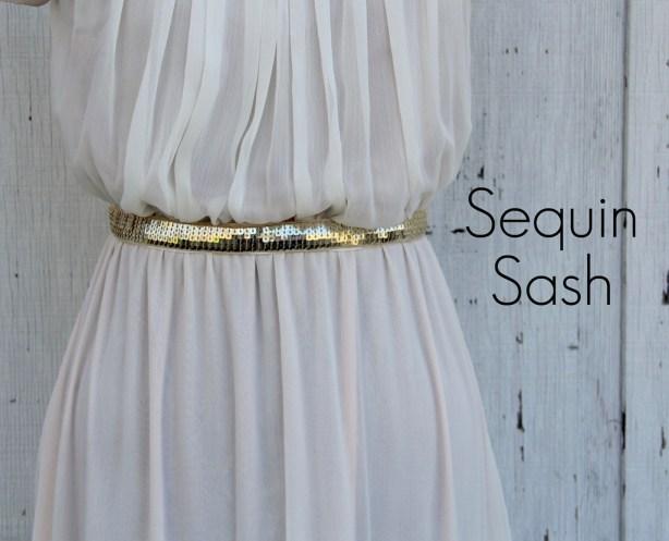 Sequin Sash