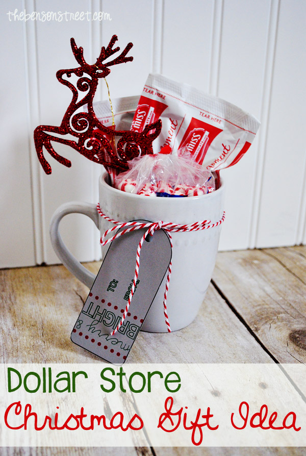 Dollar Store Christmas Gift Idea - The Benson Street
