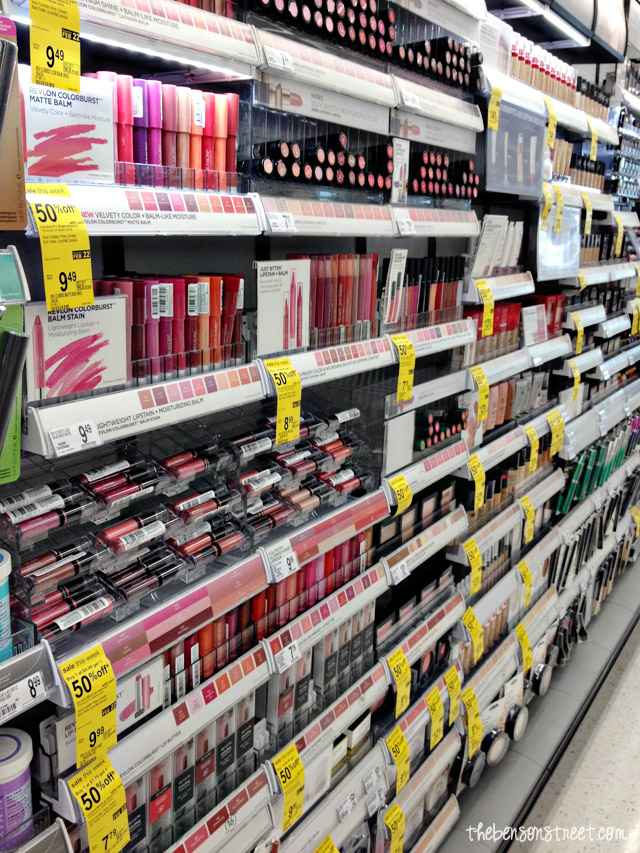 Walgreens Beauty Aisle at thebensonstreet.com