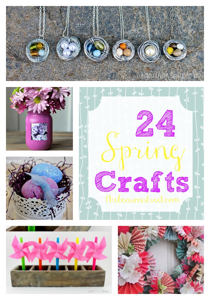 24 Spring Crafts at thebensonstreet.com.jpg