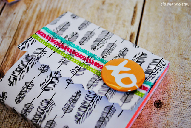 Amy Tangerine Notebook Covers at thebensonstreet.com