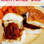 Easy Meatball Sub Sliders