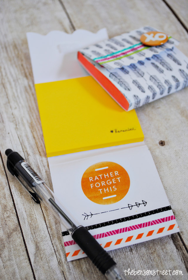 Personalized Post-It Note Pads at thebensonstreet.com