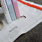 Spring Tea Towel Upcycle