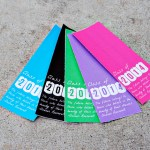 2014 Graduation Bookmarks