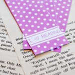 Radiant Orchid Bookmark Printable