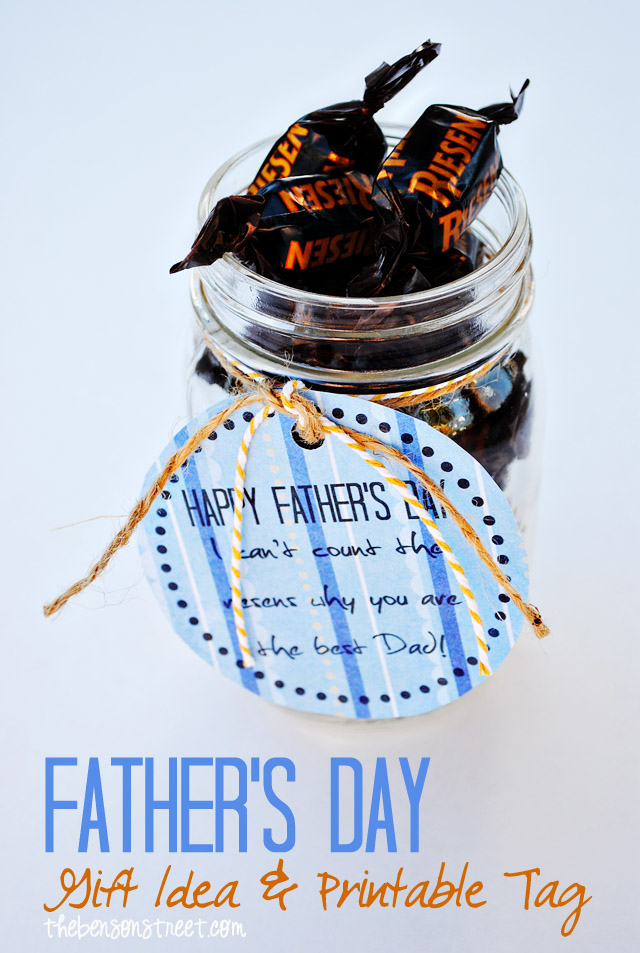 Father's Day Printable Tag at thebensosntreet.com