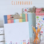 Homework Clipboards: Back to School Series