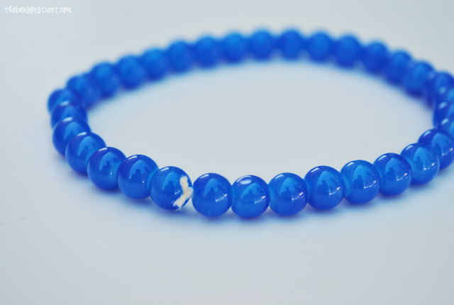 Easy to make Maxon Inspired Bracelet at thebensonstreet.com