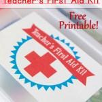 Teacher First Aid Kit: Back to School Series