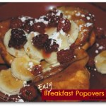 Easy Breakfast Popovers: Back to School Series