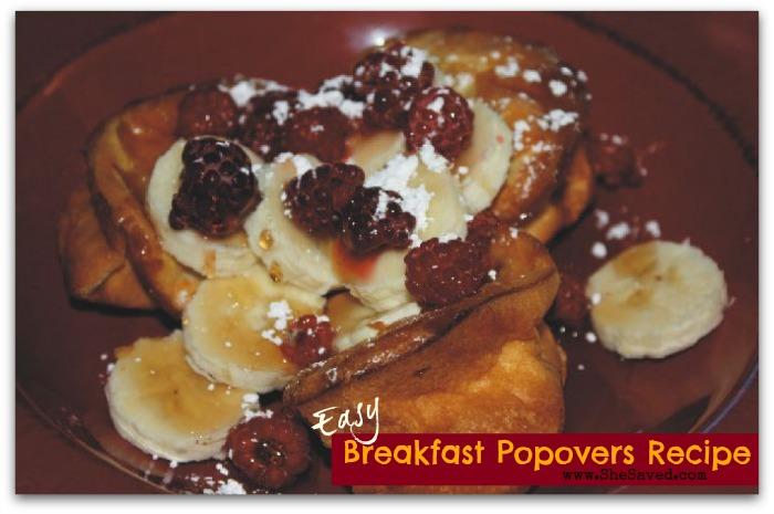 Breakfast Popovers Recipe