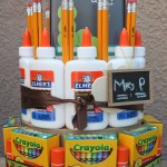 School Supplies Cake: Back to School Series