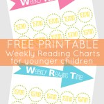 Weekly Reading Time Chart Printable: 45 Days of Back to School