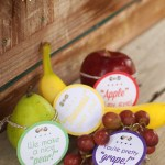 Lunch Box Fruit Notes: Back to School Series