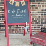 Kids Easel Makeover: Back to School Series