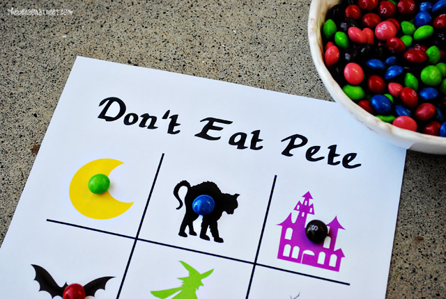 Don't Eat Pete Halloween Game at thebensonstreet.com