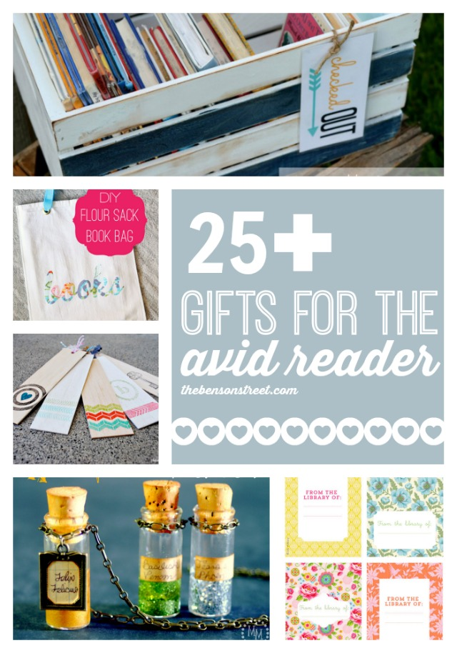 25+ gifts for the avid reader by thebensonstreet.com