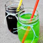 Easy Halloween Drinks: Witch's Brew & Zombie Punch