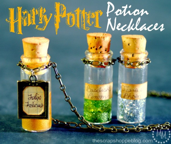 Harry Potter Potions Necklaces
