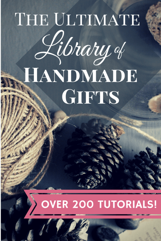 The Ultimate Library of Handmade Gifts