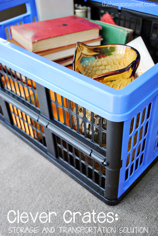 Clever Crates Storage Solution at thebensonstreet.com