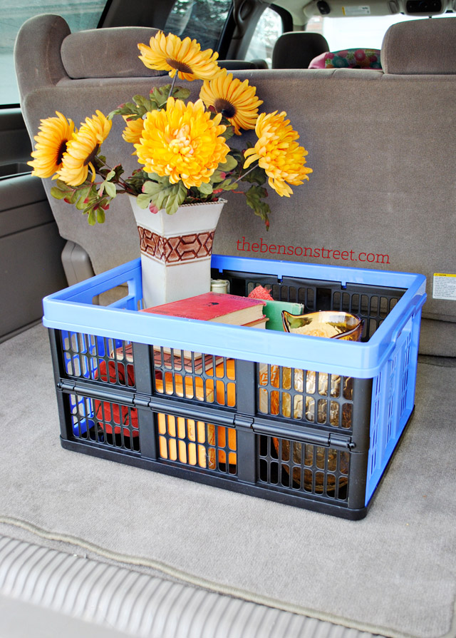 Easy Storage and transport ideas with Clever Crates at thebensonstreet.com