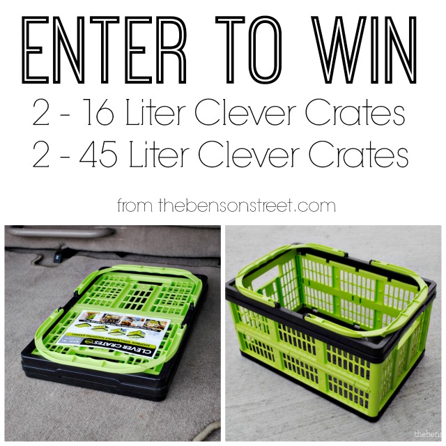 Enter to Win Clever Crates from thebensonstreet.com