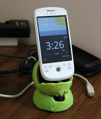 Tennis Ball Charging Dock