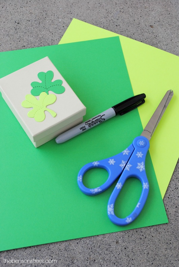 Shamrock Memory Game Supplies at thebensonstreet.com