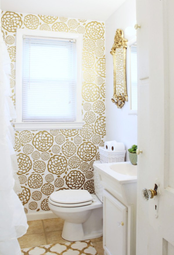 Glam-Bathroom-Makeover-33-699x1024