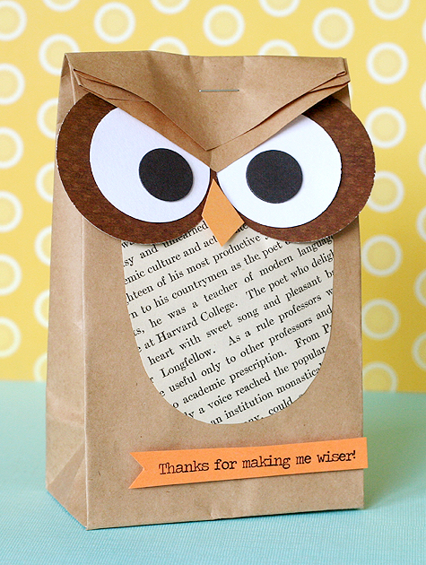 Owl Teacher Gift