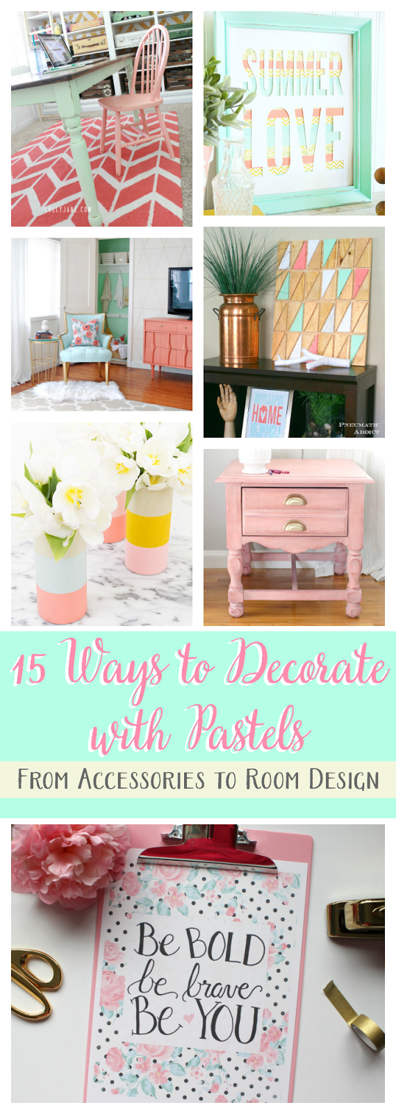 Ways to Decorate with Pastels